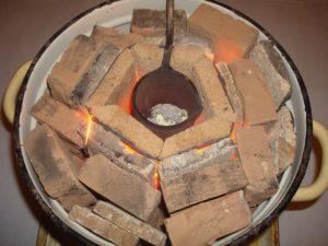 Как расплавить металл в домашних условиях