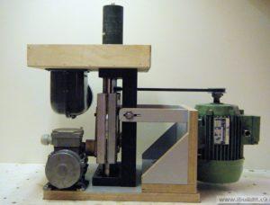 Осцилляционный шпиндельный шлифовальный станок своими руками