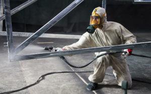 Антикоррозийная обработка металлоконструкций
