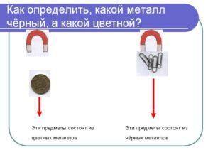 Как определить какой металл в домашних условиях