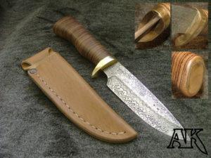 Изготовление гарды для ножа своими руками