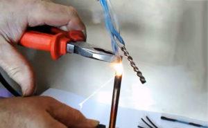 Сварка медных проводов в домашних условиях