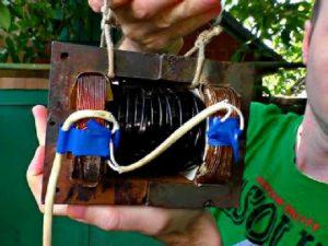 Дуговая сварка из микроволновки своими руками