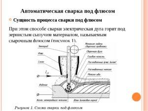 Технология механизированной сварки под флюсом