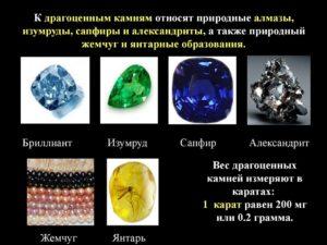 Полудрагоценные металлы список