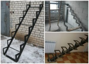 Как сварить металлическую лестницу своими руками