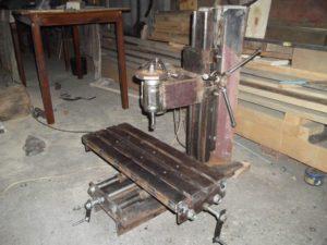 Самодельный фрезерный станок по металлу своими руками