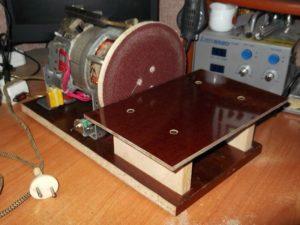 Как сделать шлифовальный станок своими руками
