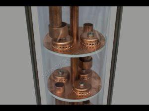 Колпачковая колонна для дистилляции своими руками