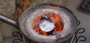 Плавка металла в домашних условиях