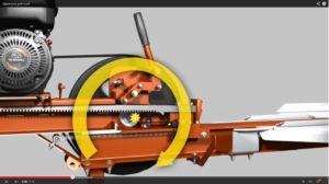 Как сделать реечный дровокол своими руками