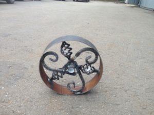 Как сделать колесо из металла