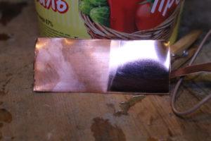 Химическая полировка латуни