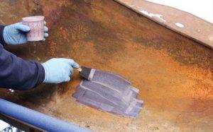 Чем покрыть металл чтобы не ржавел