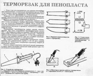 Резка пенопласта своими руками с помощью нихрома