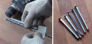 Анкерные болты для крепления металлических дверей