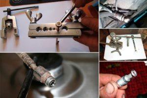 Как развальцевать стальную трубку