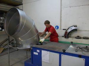 Оборудование для производства воздуховодов из оцинкованной стали