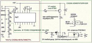 Измеритель ЭПС конденсаторов своими руками