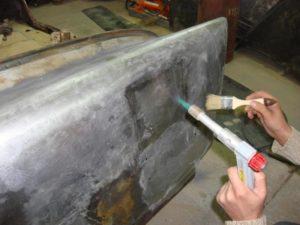 Холодная оцинковка металла своими руками