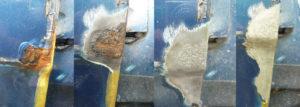 Как снять цинковое покрытие с металла
