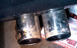 Удаление хрома с металла