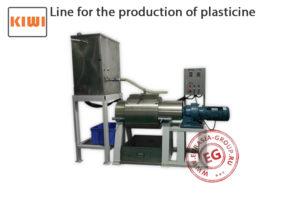 Оборудование для производства пластилина