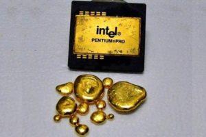 Добываем золото из электроники своими руками