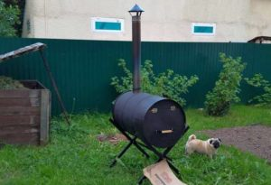 Печка для сжигания мусора своими руками