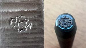 Как сделать клеймо на металле