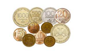 Из какого металла сделаны монеты России