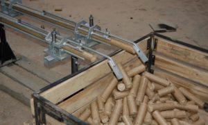 Производство пеллетов из опилок в домашних условиях