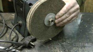 Как сделать полировочный круг своими руками