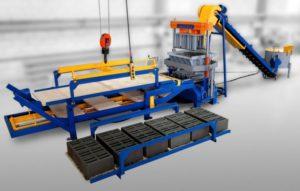 Оборудование для производства брусчатки методом вибропрессования