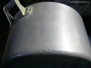 Как запаять алюминиевую кастрюлю