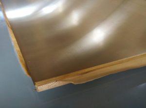 Латунь листовая обрезки