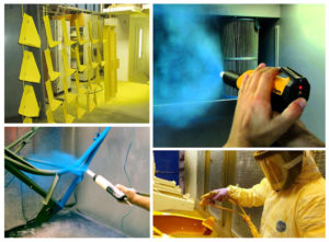 Технология порошкового окрашивания металла