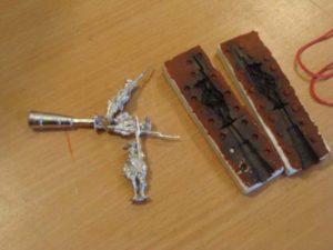 Изготовление оловянных солдатиков в домашних условиях