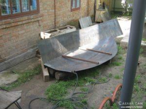 Металлическая лодка своими руками