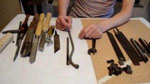 Как сделать резец по дереву своими руками