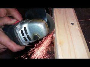 Как заточить ножовку по дереву болгаркой