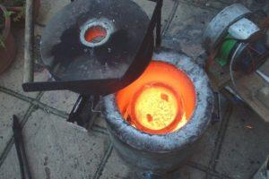 Как плавить латунь в домашних условиях