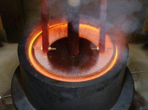 Индукционная печь для закалки металла