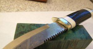 Ковка ножа из напильника своими руками