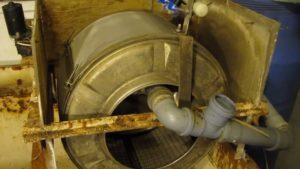 Барабанный фильтр из стиральной машины своими руками