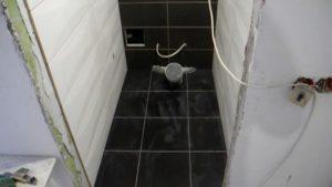 Укладка плитки в туалете своими руками