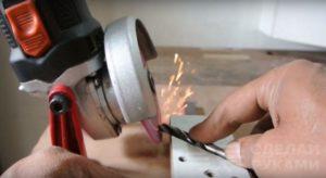 Как заточить сверло по металлу болгаркой