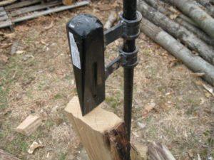Приспособление для колки дров своими руками