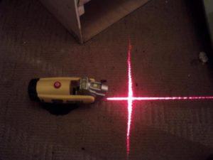 Лазерная линейка своими руками