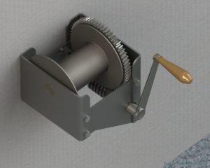 Как сделать ручную лебедку своими руками